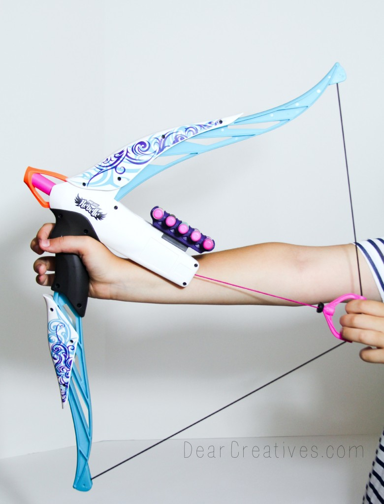 Nerf Rebelle, toy bow and arrow, bow and arrow,  DearCreatives,com, Theresa Huse 2013