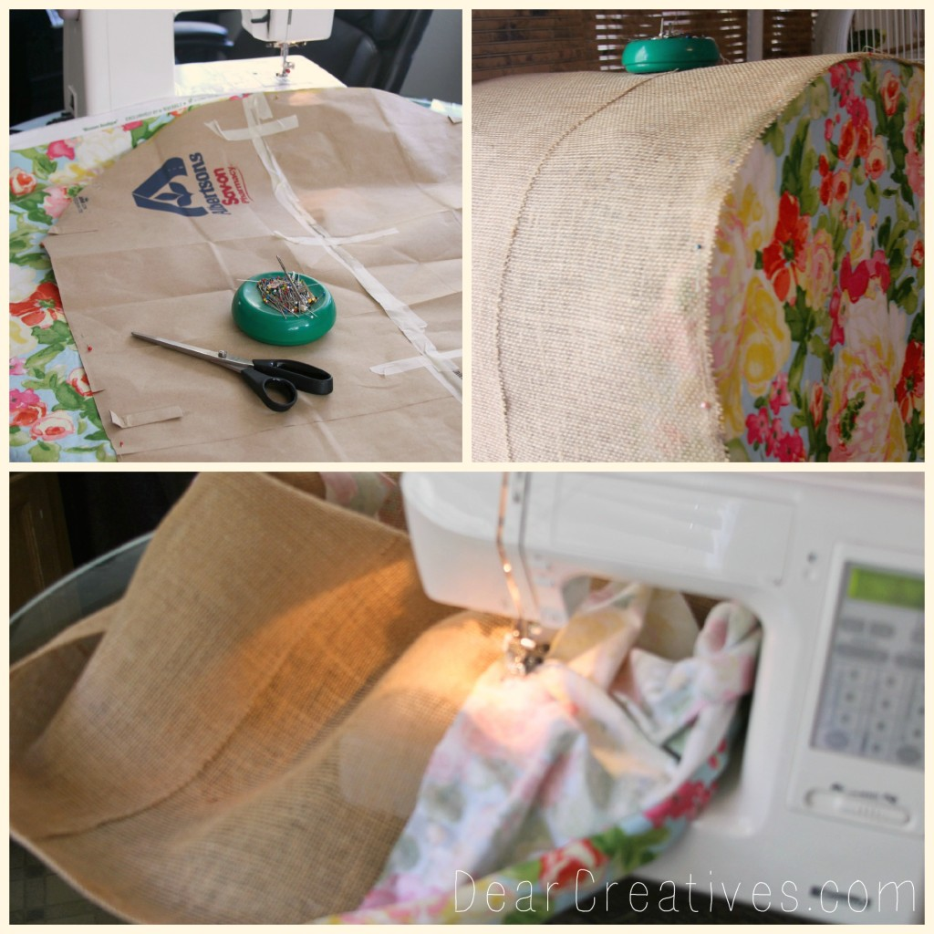 Sewing Bird Cage Cover Step by Step, Bird cage cover, DearCreatives.com