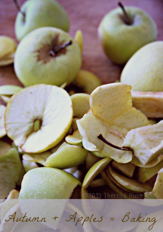 Apples, Apple Peels, Theresa Huse 2013
