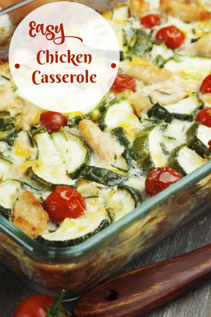 Autumn Chicken Casserole Recipe Easy And Delicious