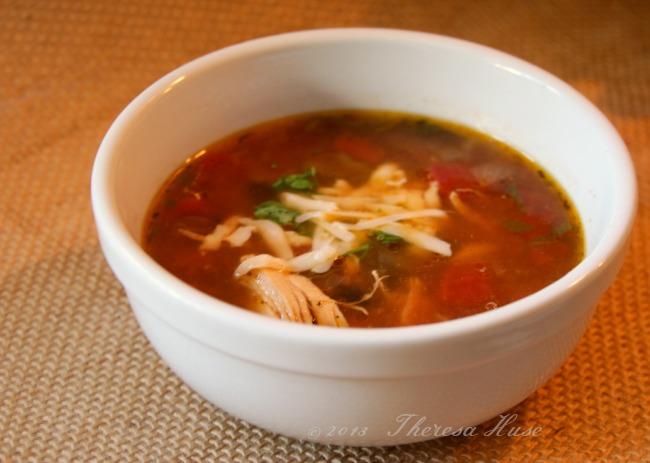 Our Favorite Chicken Tortilla Soup #Recipe