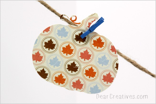 Cricut Crafts, papercrafts, Pumpkin cut out,  DearCreatives.com, Theresa Huse 2013