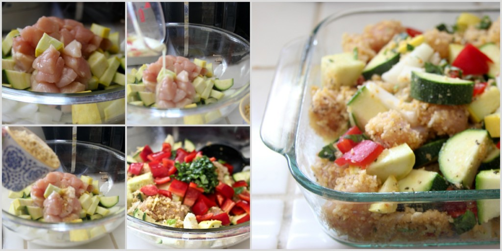 Step by Step Chicken Vegetable Casserole, DearCreatives.com, Theresa Huse 2013