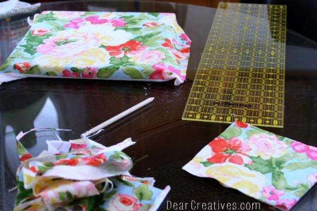 Waverly fabric project, Theresa Huse 2013