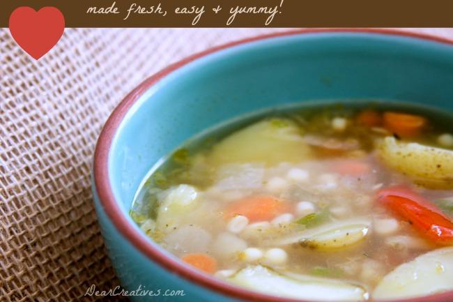 Corn Chowder Soup_ Soup in a bowl_Theresa Huse 2013