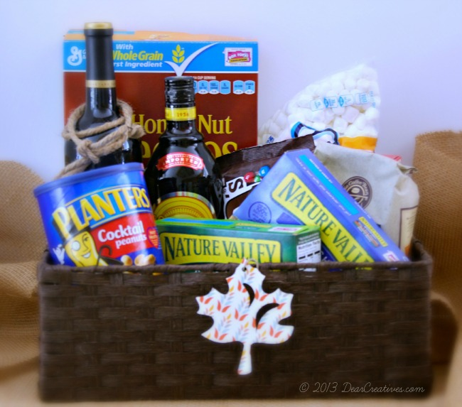 Grocery items for a party in a basket_#shop_Smart _Final_#choosesmart_Theresa Huse 2013