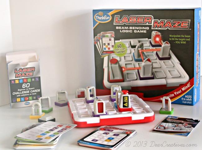 Kids Game_Laser Maze_DearCreatives.com_Theresa Huse 2013