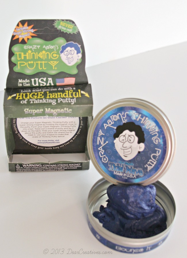 Kids Toy_Thinking Putty_Magnet and Putty_DearCreatives.com_Theresa Huse 2013