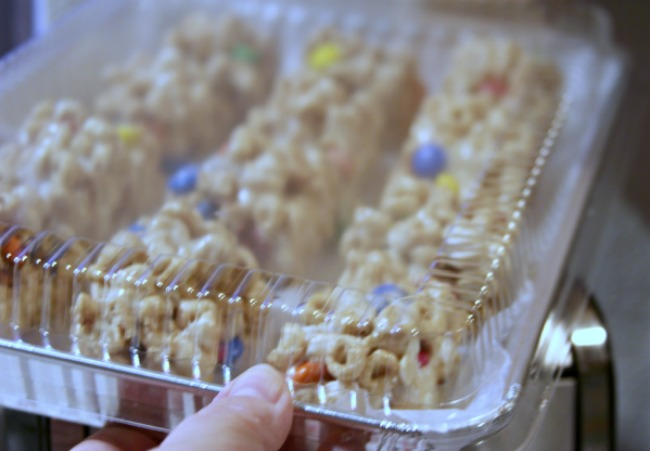 Tray of Cherrios Krispy Treats _#shop_Theresa Huse 2013