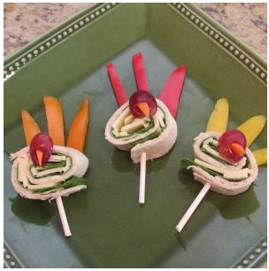 Turkey Sandwich Wraps_appetizer_