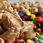 Cherrios peanut butter Marshmallow treats
