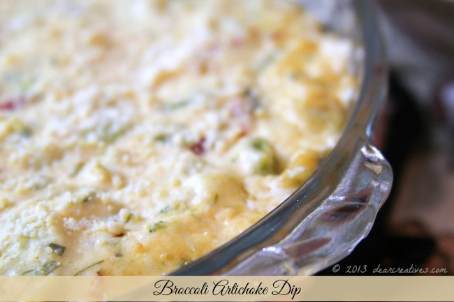 Broccoli Artichoke Dip_DearCreatives.com_Theresa Huse 2013