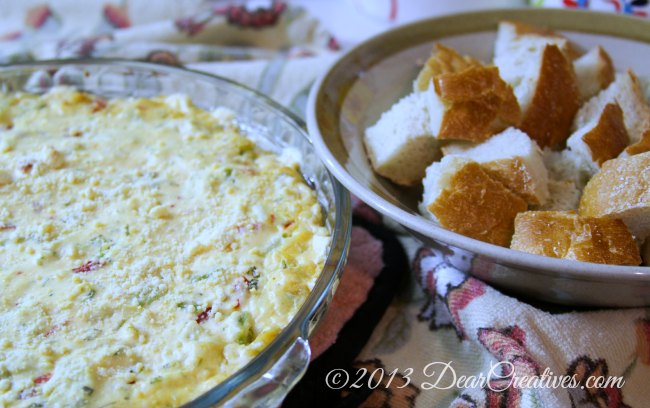 Broccoli Artichoke Dip_Theresa Huse 2013