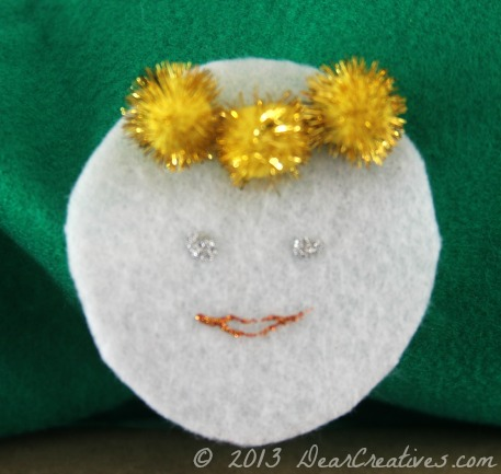 Felt Angel_ Felt Crafts_ DearCreatives.com_Theresa Huse 2013