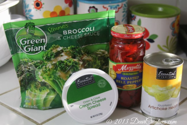 Green Giant Steamers_ Broccoli and Cheese Sauce_ Groceries for Artichoke dip_ Groceries_Theresa Huse 2013