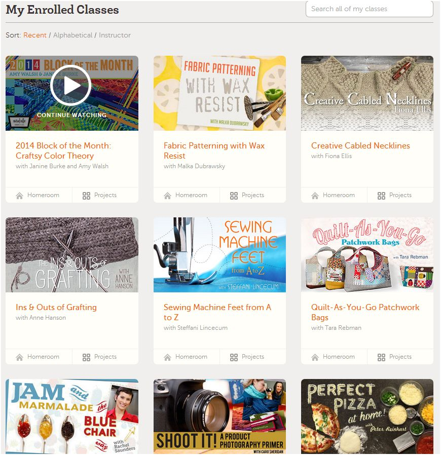 Learn Something New! Craftsy Flash Sale! Online Classes up to 50% Off!
