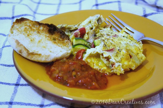 Meal Plan Monday: Dinner Indoor Picnic with Fittata +Recipe