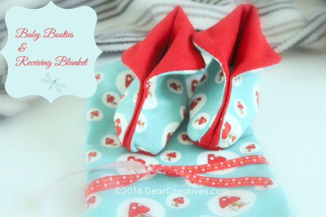 Easy Sewing for Baby: Receiving Blankets Booties & Bootie Inserts