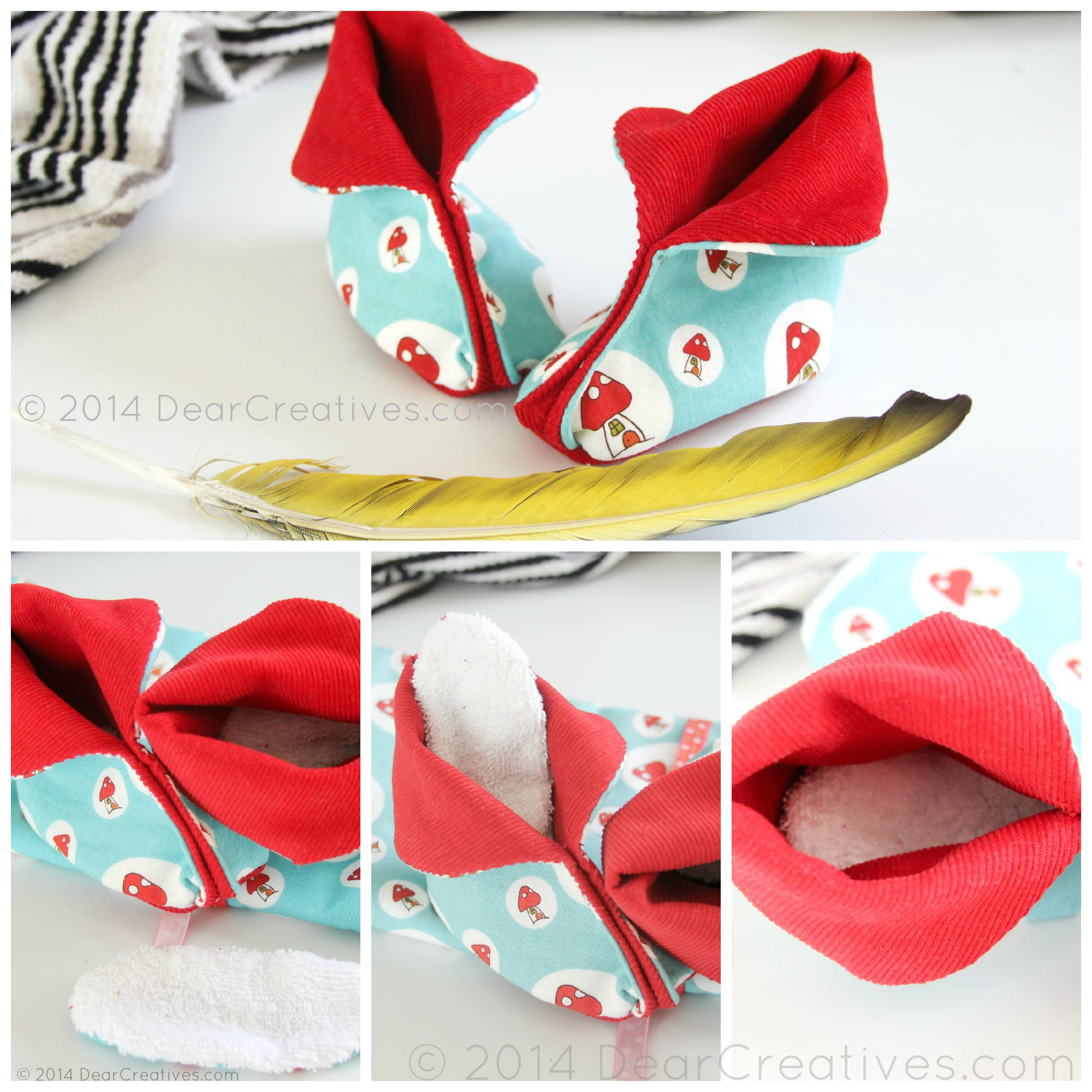 Make Cloth Baby Shoes