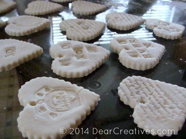 Salt Dough Recipe + DIY Heart Ornaments