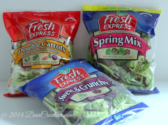 Fresh Express Salad Bags_