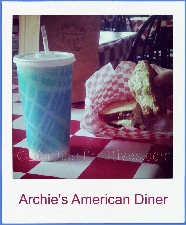 tuna sandwhich from Archies American Diner in Monterey CA