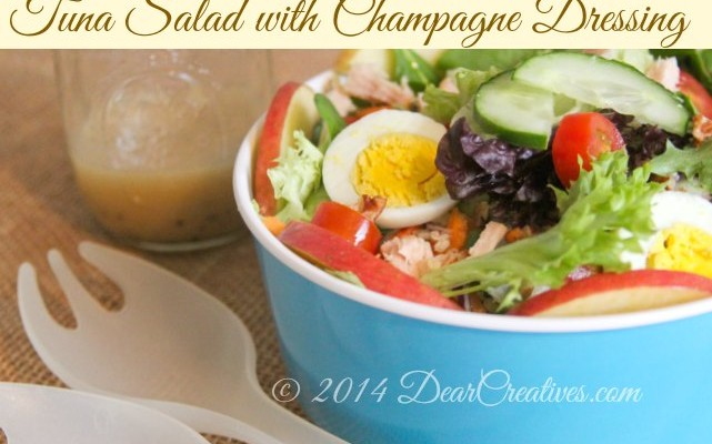 Tuna Salad with Champagne Dressing