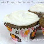 Carrot Cake Pineapple Pecan Cupcakes_