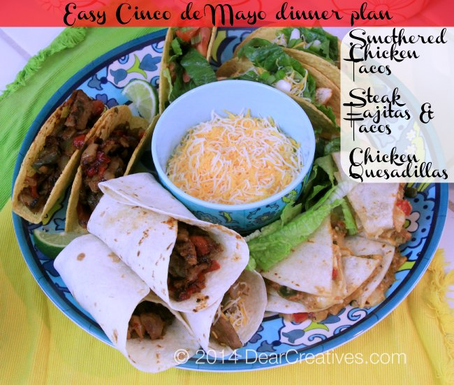Mexican Food platter_