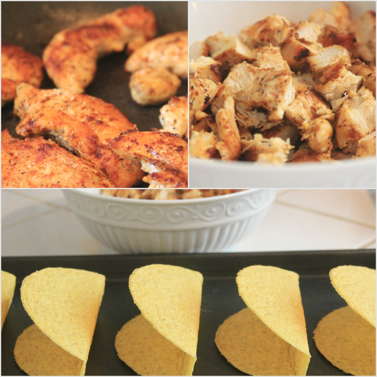 Smothered Chicken Tacos Step by Step