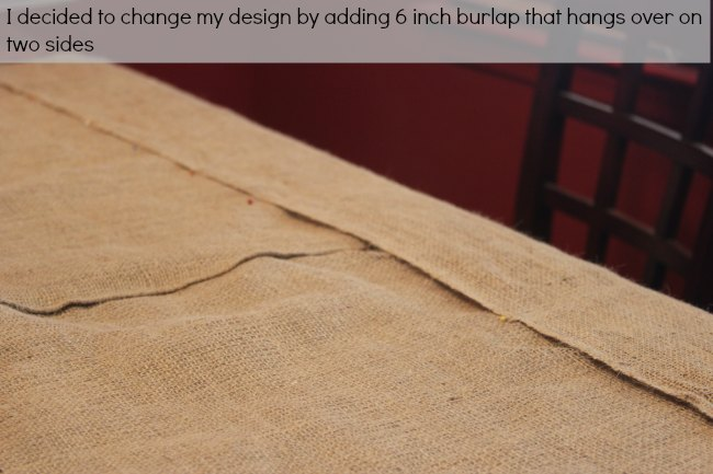 close up of table cloth