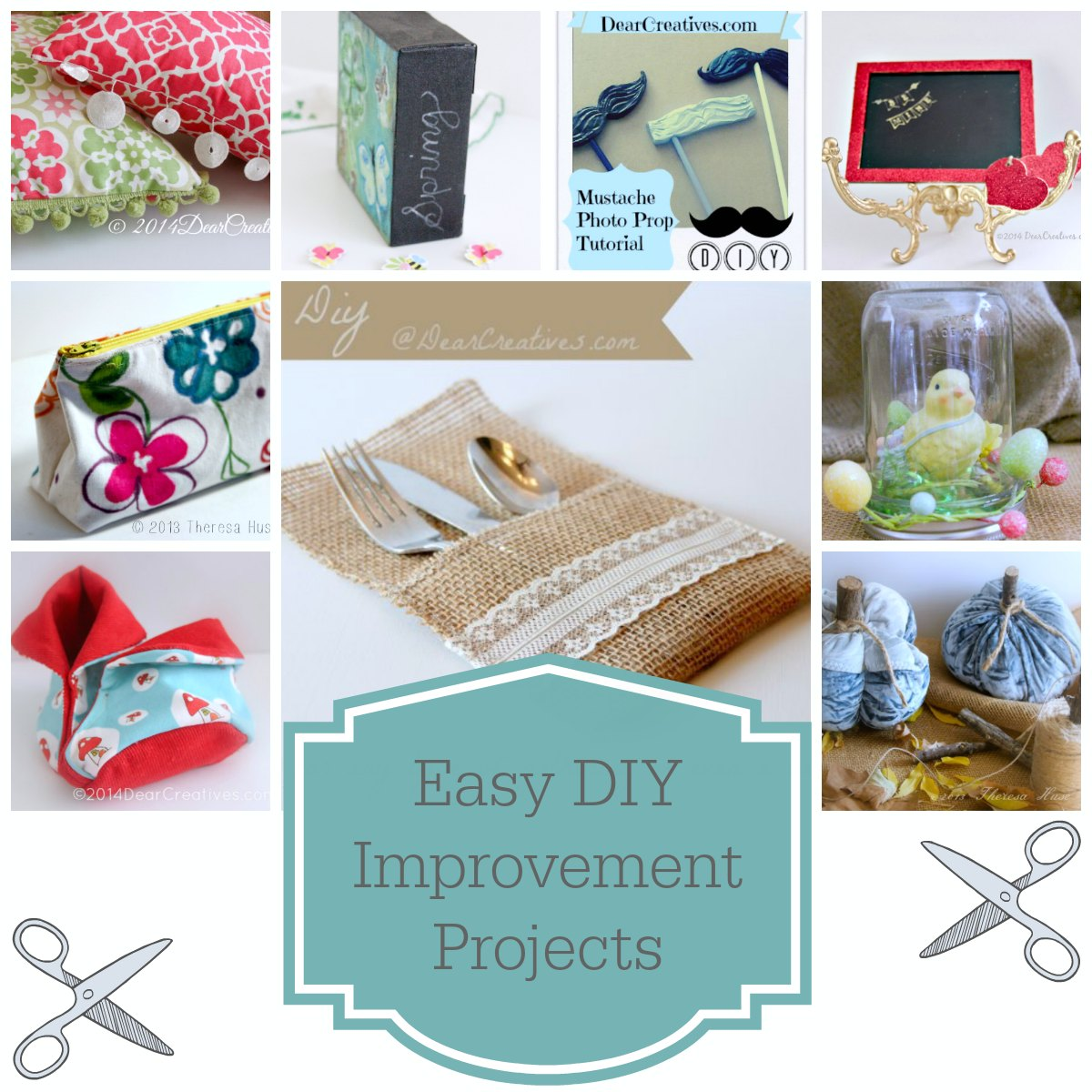Easy diy improvement projects for Diy craft projects easy