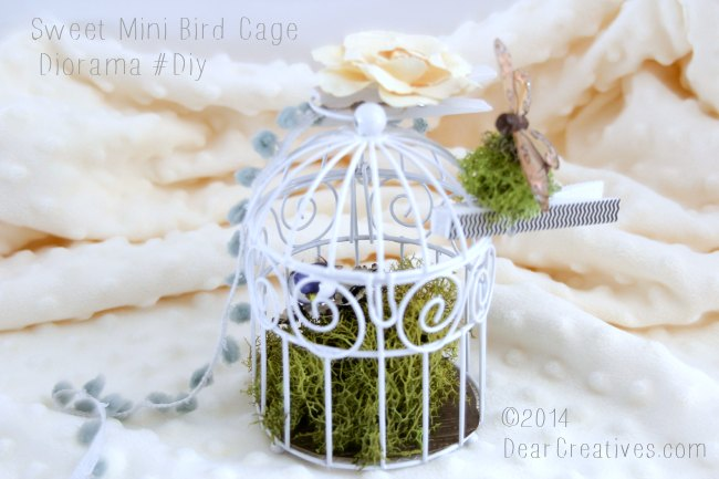 Mini Bird Cage Diorama
