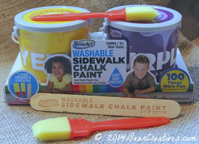 Sidewalk Chalk Painting For Kids – Make Chalk Art!