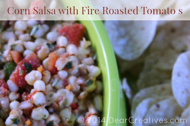 Corn Salsa With Fire Roasted Tomato s Appetizer #Recipe - Dear ...