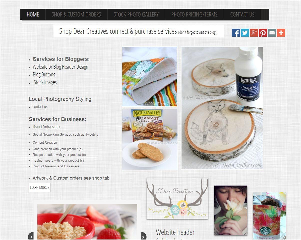 Go Daddy DIY website builder site snapshot