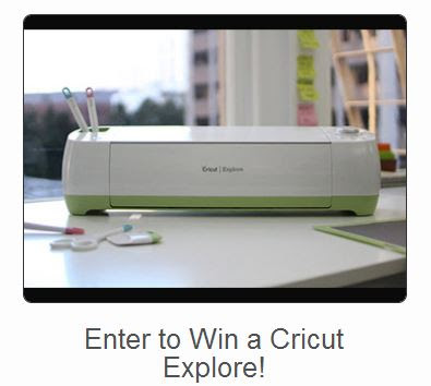 Cricut Explore Cutting Machine #BacktoSchool #Giveaway !! Easy Entry!