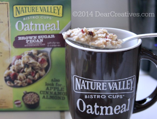 Nature Valley Bistro Cups Oatmeal_