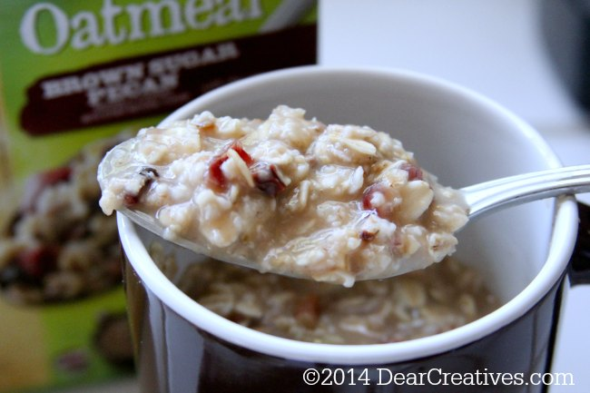 Breakfast Options Ready in Minutes! #BistroCups Oatmeal
