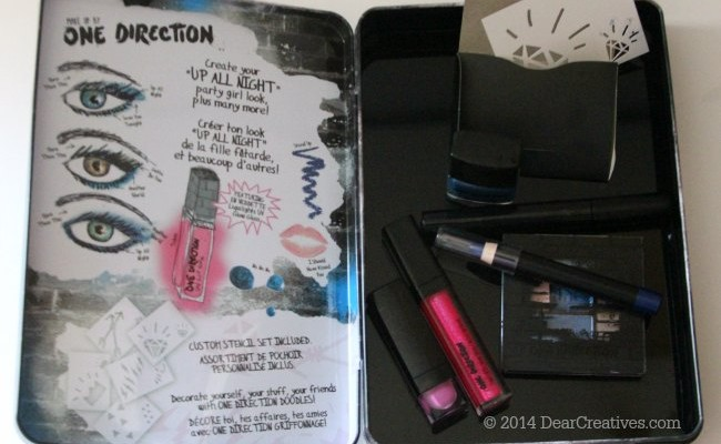 Makeup by #OneDirection Available at Macy's #Win An Autographed Set! #makeupby1D