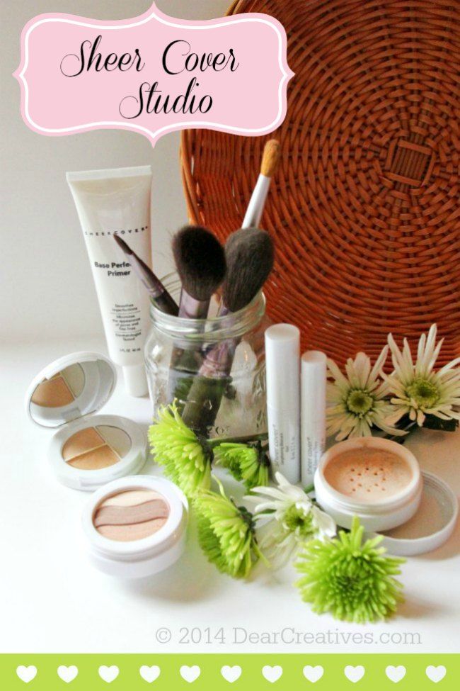 Sheer Coverage Mineral Makeup Review Sheer Cover Studio #FlawlessFinish Giveaway