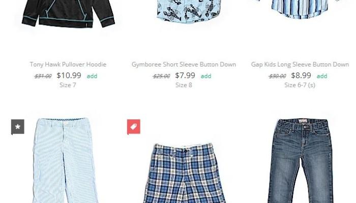 Thredup boys clothes