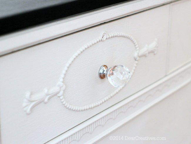 Close up of Dresser to Kitchen Island Drawer face_