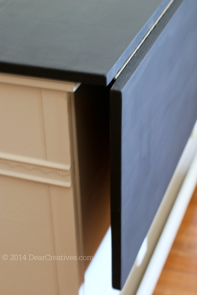 Dresser To Kitchen Island Cart Diy With Chalkyfinish