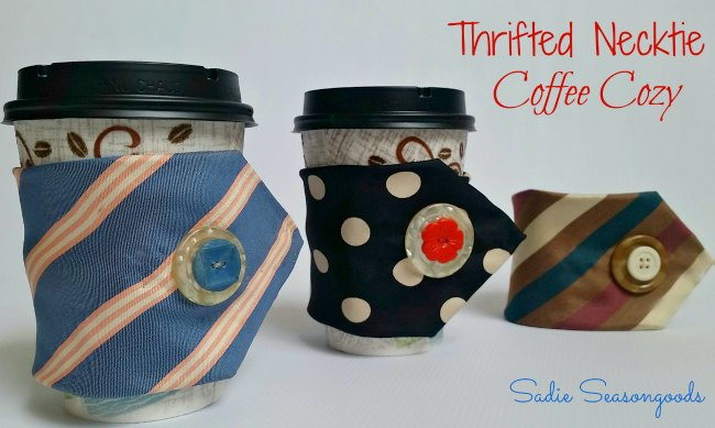 Necktie Coffee Cozies_Sadie Seasongoods_