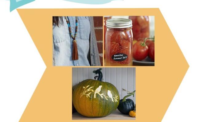 Top Three Fall DIY Classes _CreativeBug_