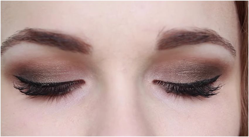 Autumn Eyes Make Up Tutorial