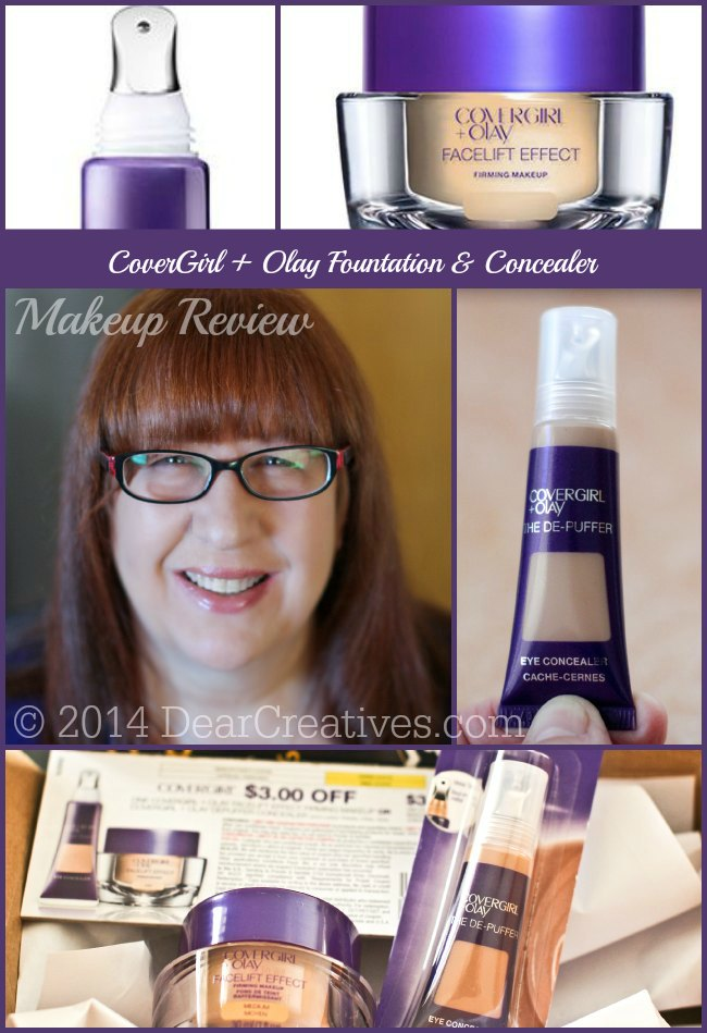 CoverGirl +Olay Makeup_Products and how it looks on_