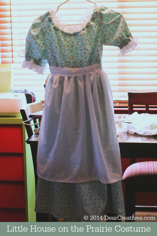 Little House on the Prairie Costume_ _