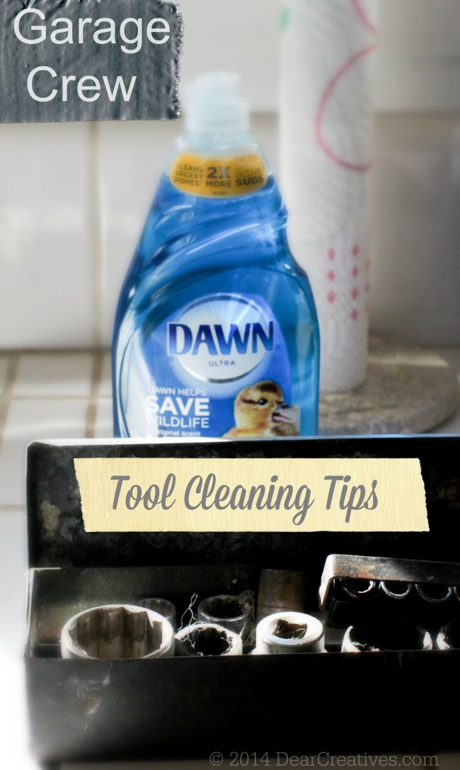 Tool Cleaning Tips_ Dawn and Tools